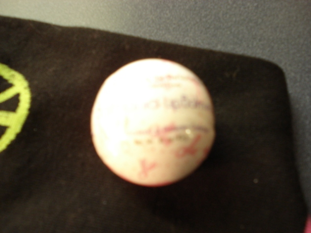 and this ball filled with lip balm, SPF 20 - Mariah tells me :)