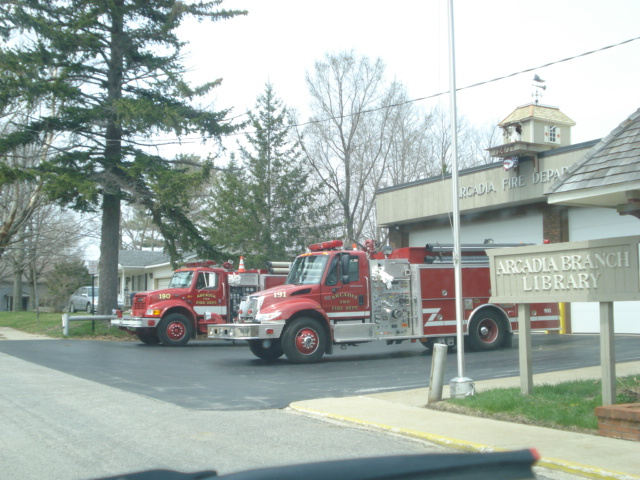 Arcadia Village Fire Trucks