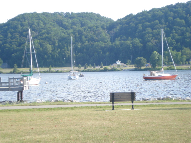 a shot of Betsie Lake