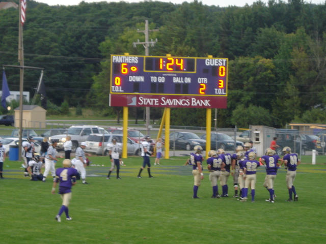 the new score board