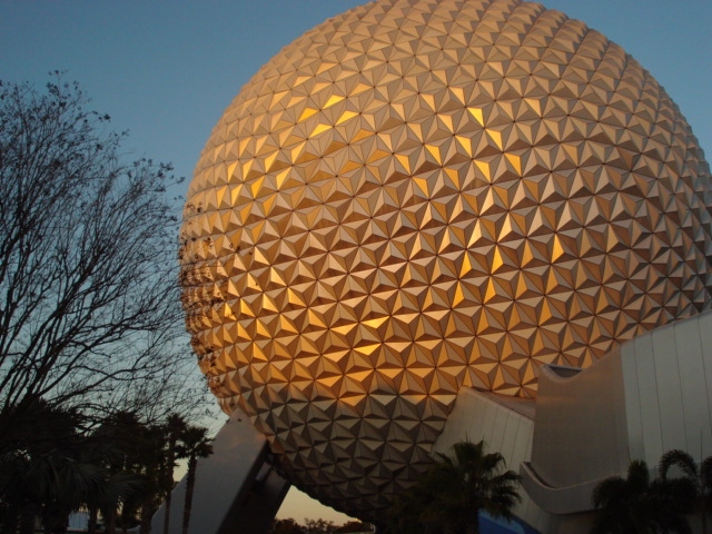 we will enjoy Spaceship Earth