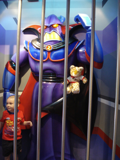 we will fight the evil Emperor Zurg