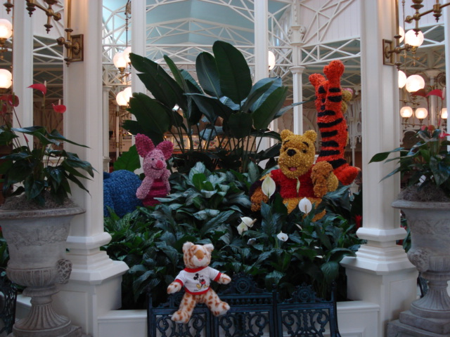 we will have breakfast with Pooh Bear and friends