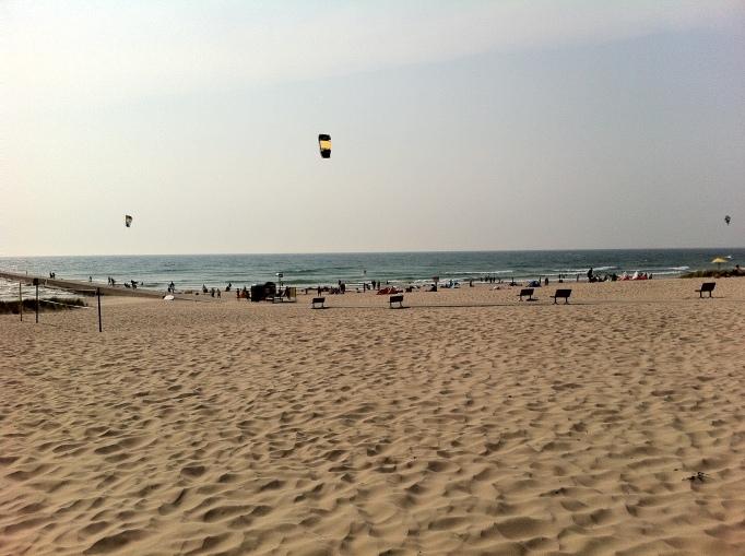 Kite boarding1